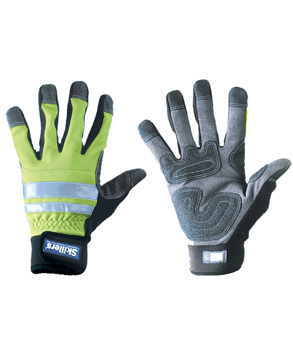 Skillers High Visibility Gloves