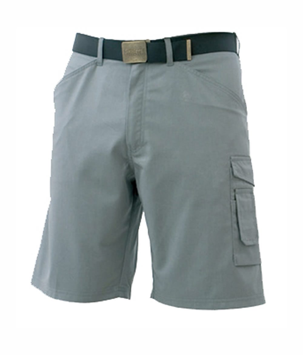SKILLERS Poly Cotton Shorts - Gray