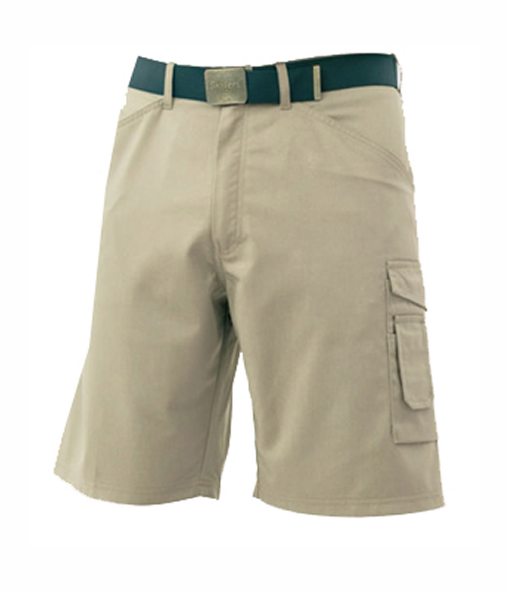 SKILLERS Poly Cotton Shorts – Khaki