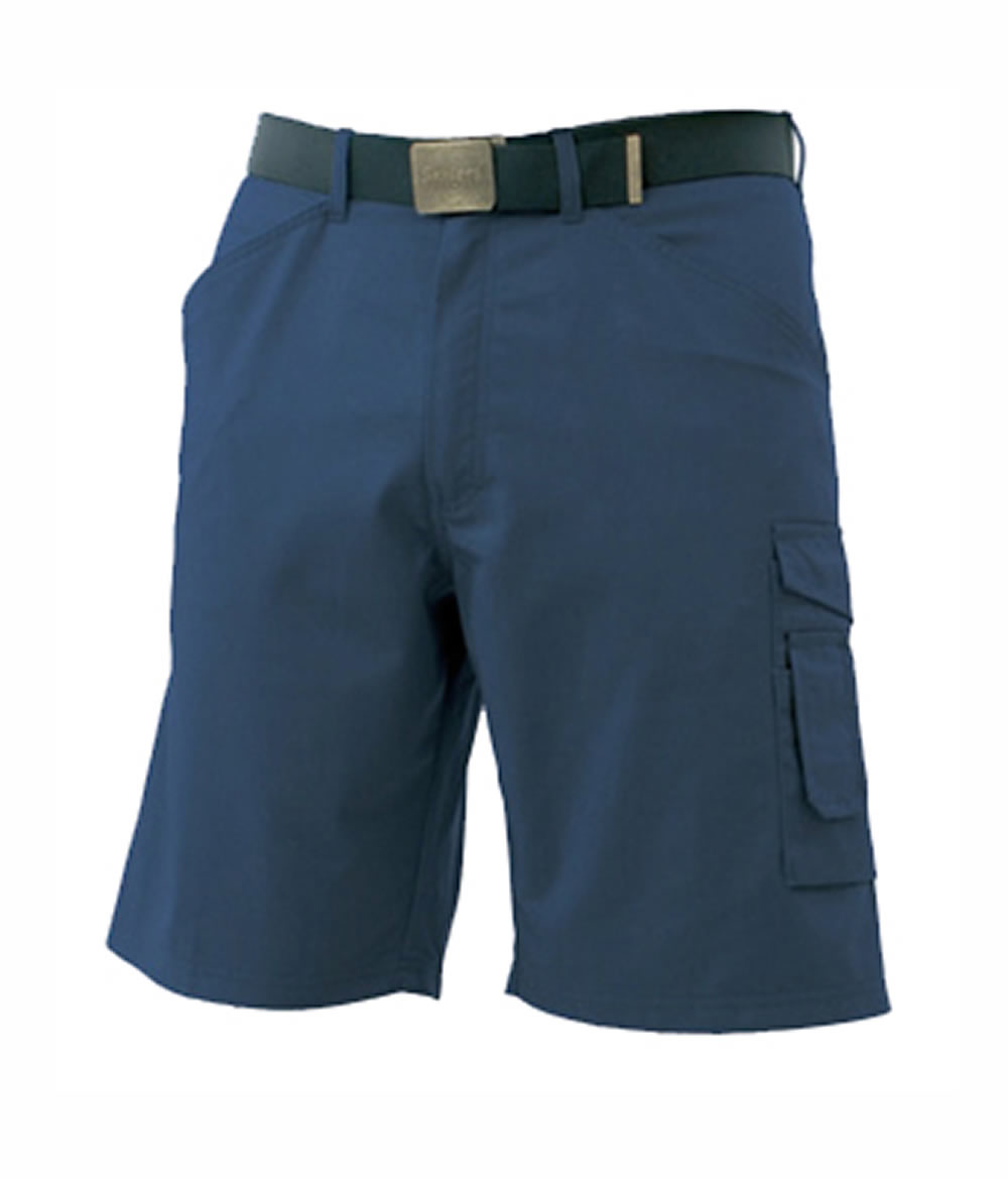SKILLERS Poly Cotton Shorts – Navy