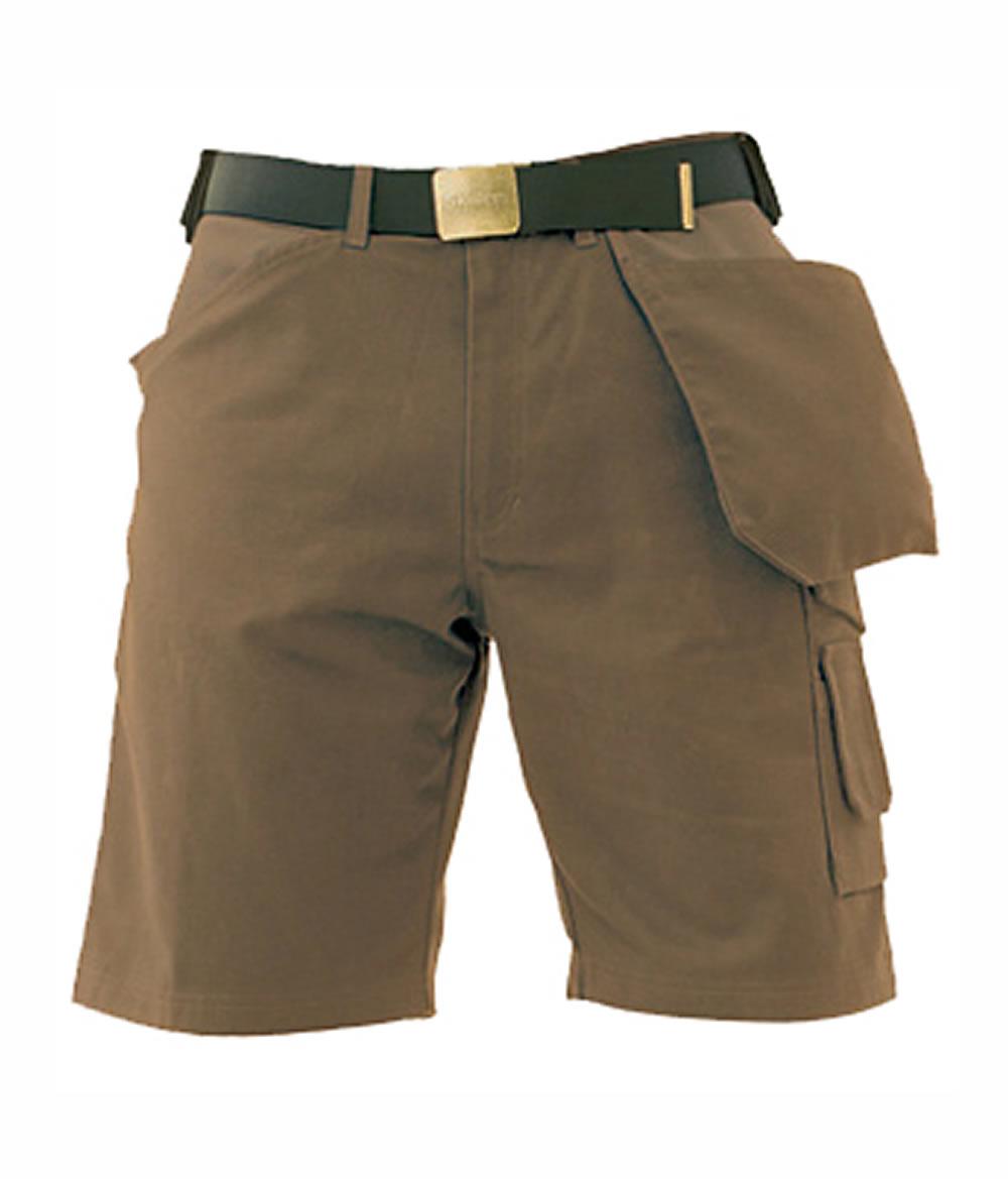 Super Canvas Shorts – Brown