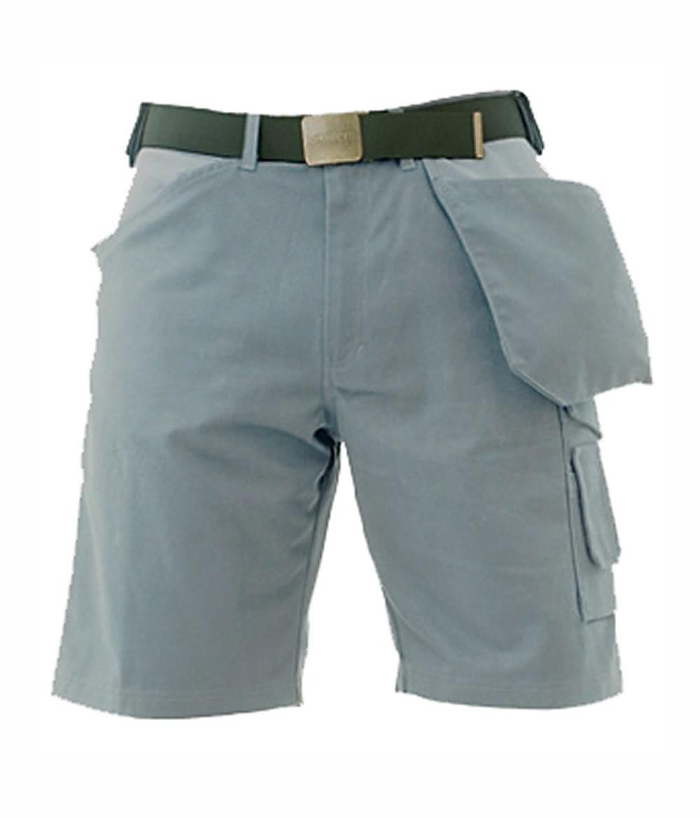 Super Canvas Shorts – Gray