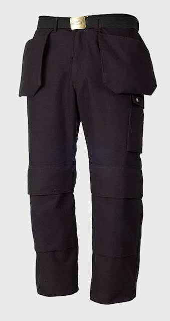 SKILLERS Super Canvas Craftsmens Pants – Black