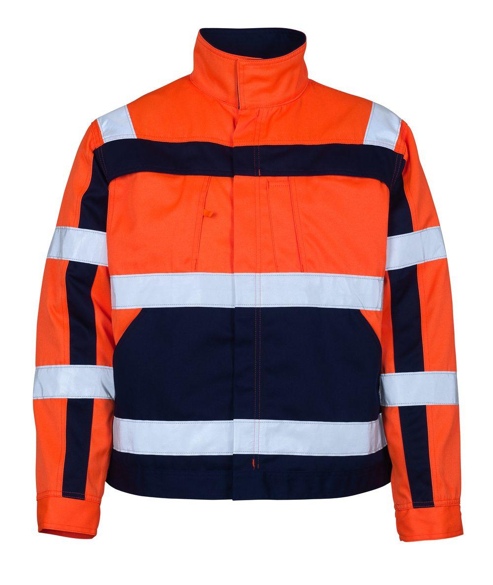 Cameta Jacket Orange/Royal