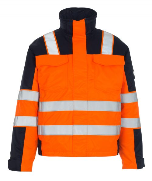 MASCOT Genova Hi Vis Jacket Orange