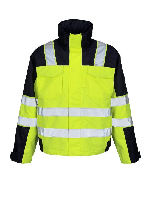 MASCOT Genova Hi Vis Jacket Yellow