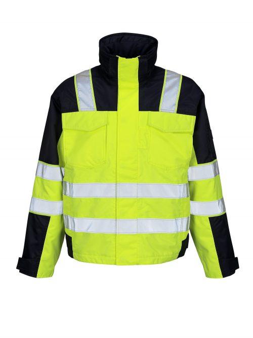 MASCOT Genova Hi Vis Jacket Yellow