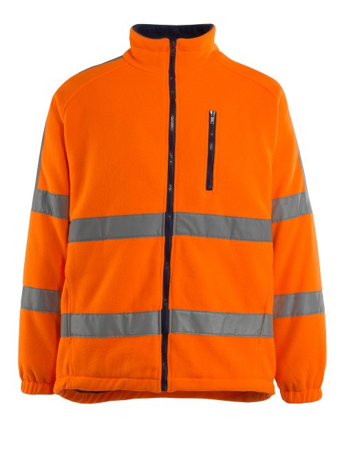Salzburg Fleece Jacket Orange
