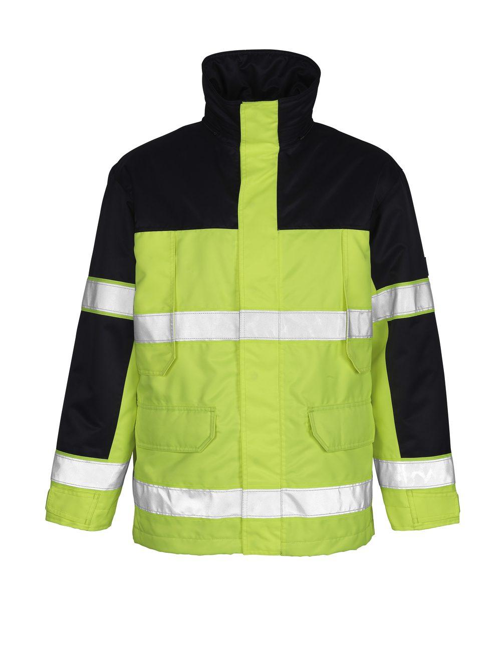 Savona Jacket Hi Vis Yellow/Navy