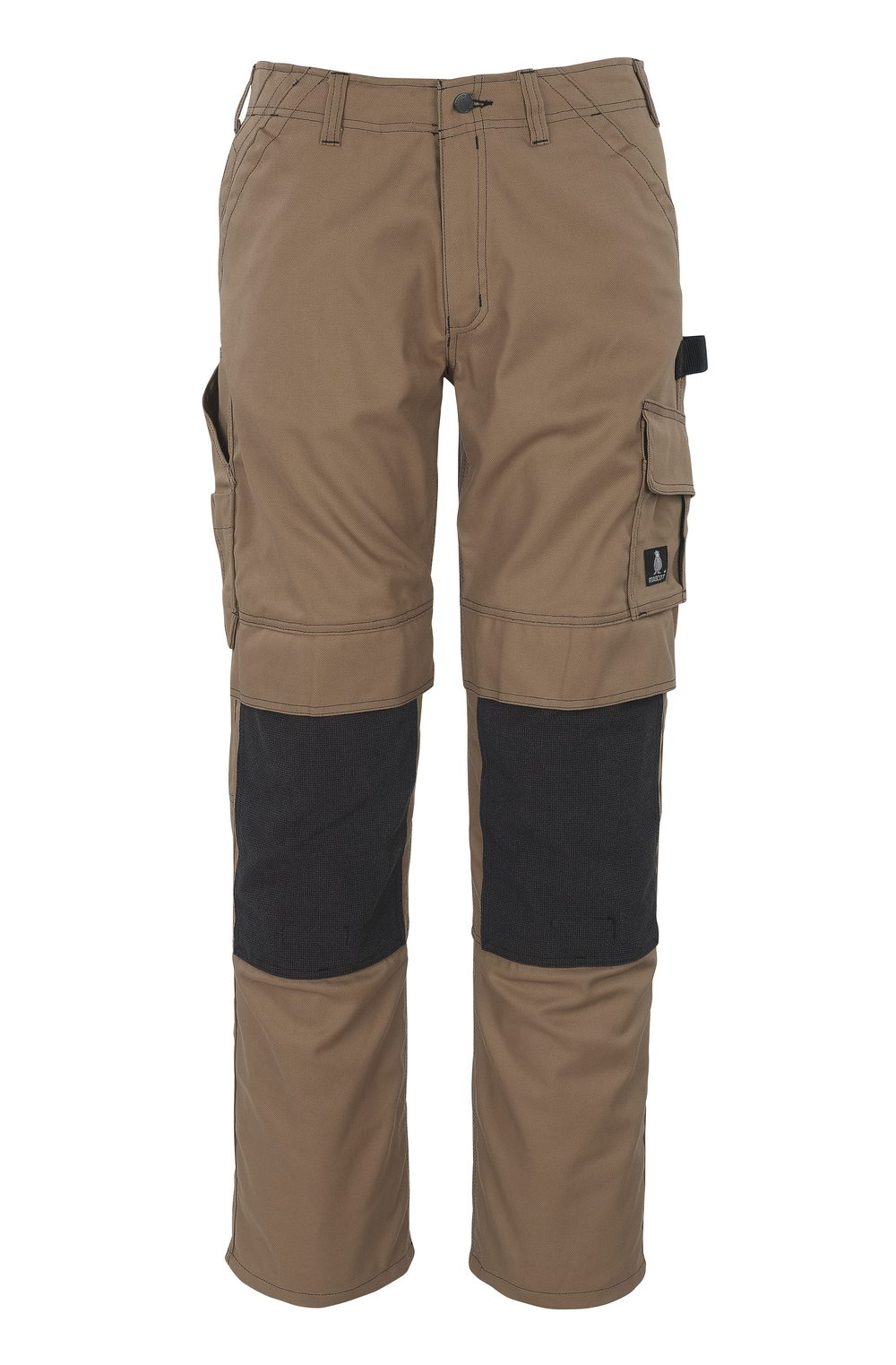 Lerida Trousers with Kevlar® Knee Pad Pockets Brown