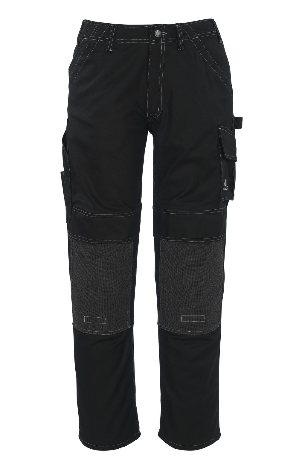 Lerida Trousers with Kevlar® Knee Pad Pockets Black