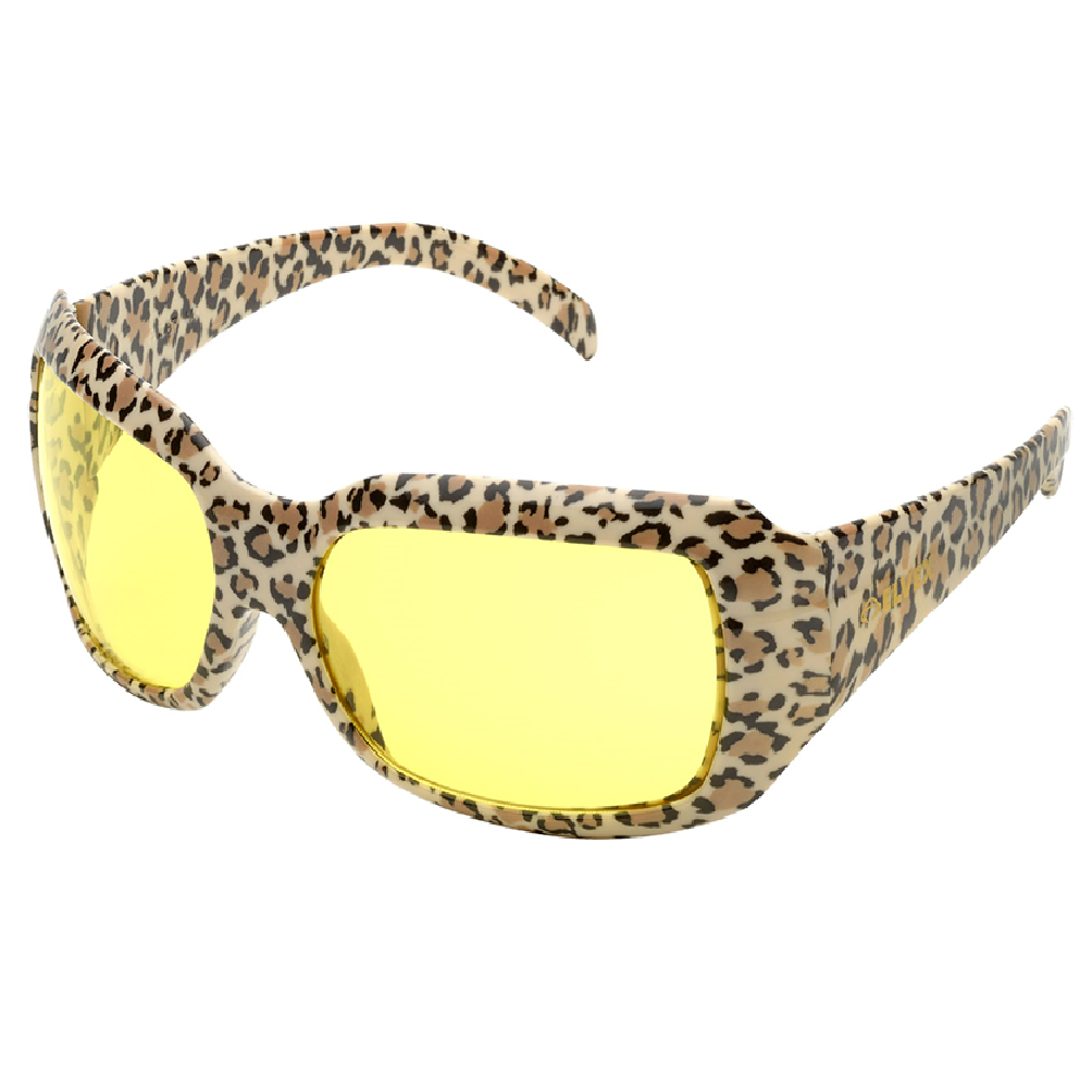 Elvex CHICA Safety Glasses with Leopard Frame, SG-42REPCON NW