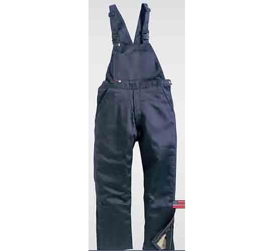 Saf-Tech 9oz Indura Insulated Flame Retardant Bib Overalls