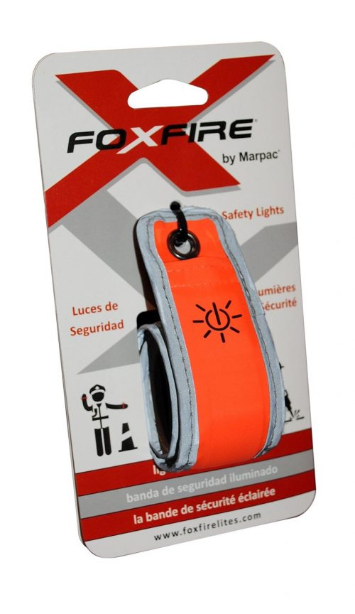 FoxFire LED Lighted Safety Band - Orange