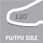 PU/TPU sole material, resistant to 120°C