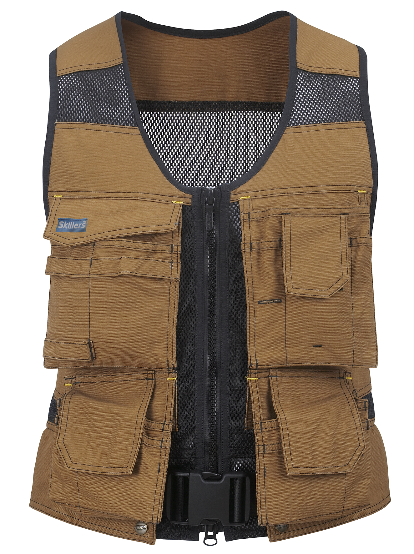 SKILLERS Flexi Tool Vest – Super Canvas, Brown (Discontinued)