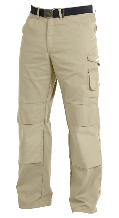 Skillers Poly Cotton Knee Pad Pants – Khaki (Limited Stock Remaining)