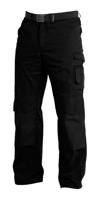 Skillers Poly Cotton Knee Pad Pants – Black (Limited Stock Remaining)