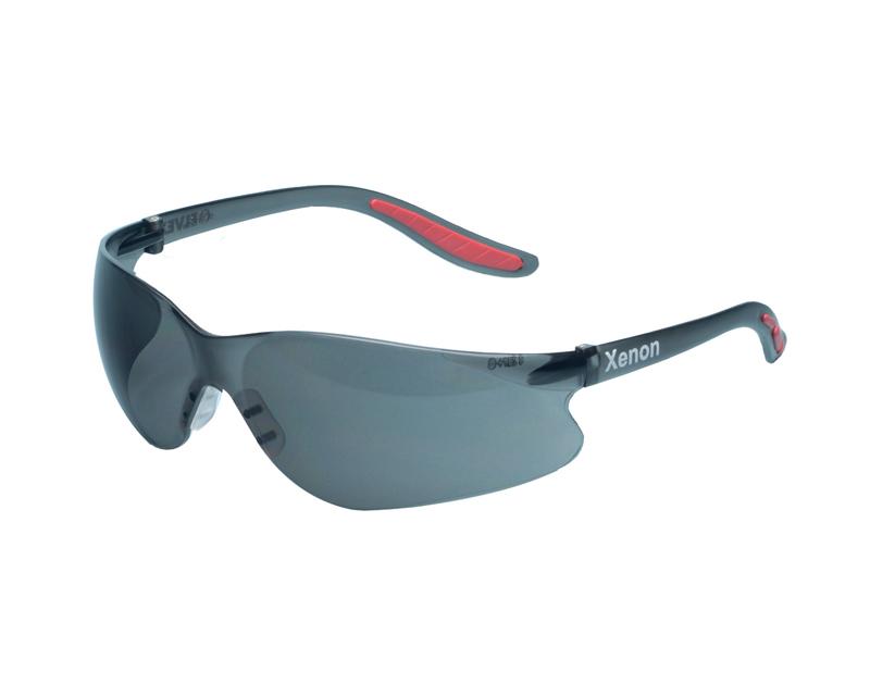 Elvex Xenon Grey Anti-fog Safety Glasses